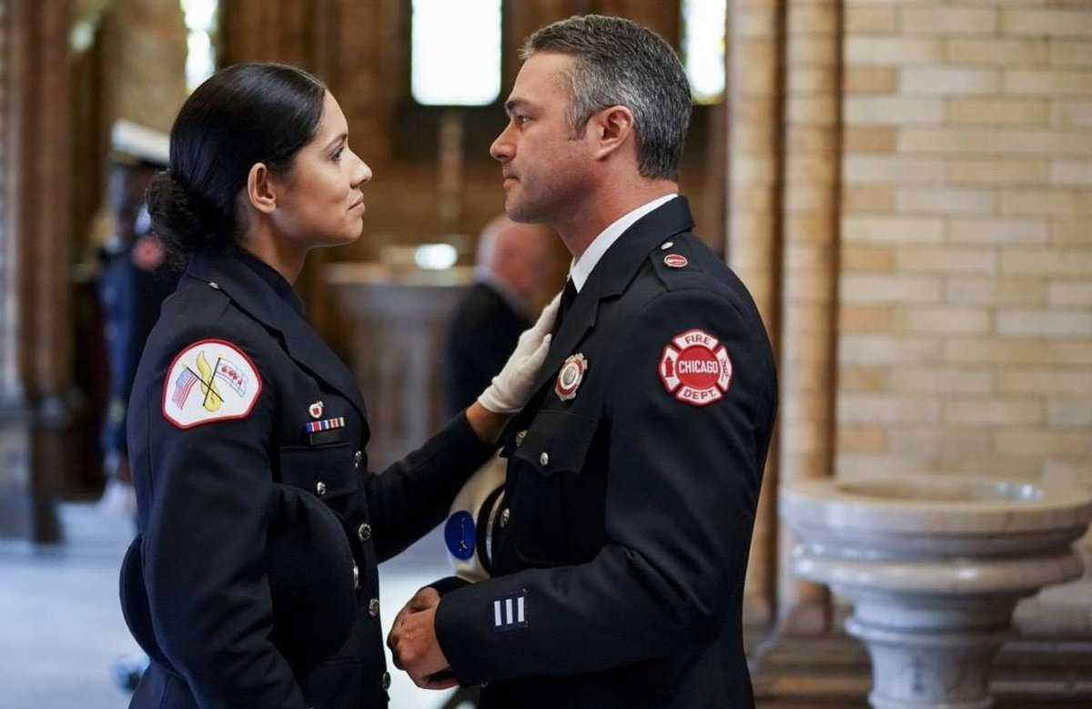 Chicago Fire Season 7 Kelly Severide And Stella Kidd Get Back