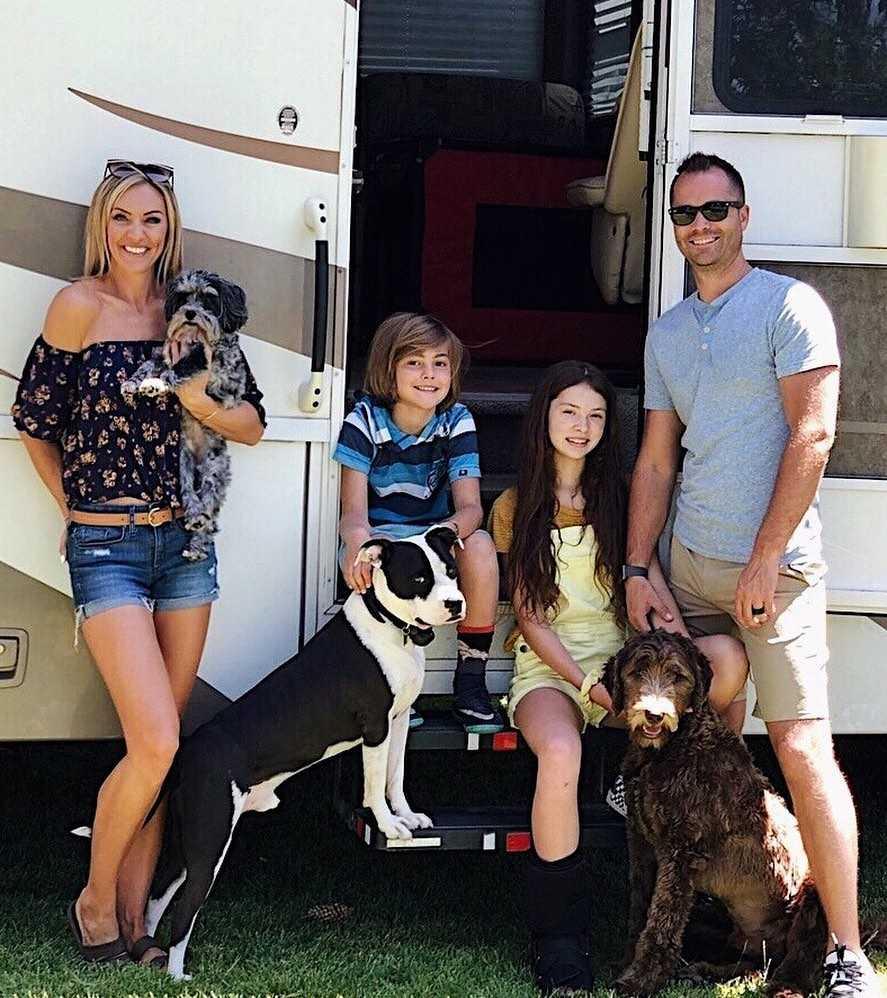 Wesley Chapman family