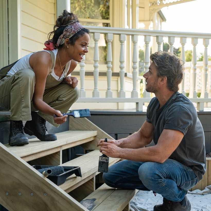 Adam Demos and Christina Milian