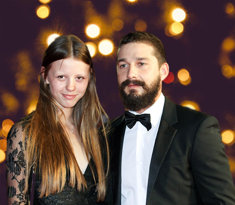 shia labeouf and his ex-wife