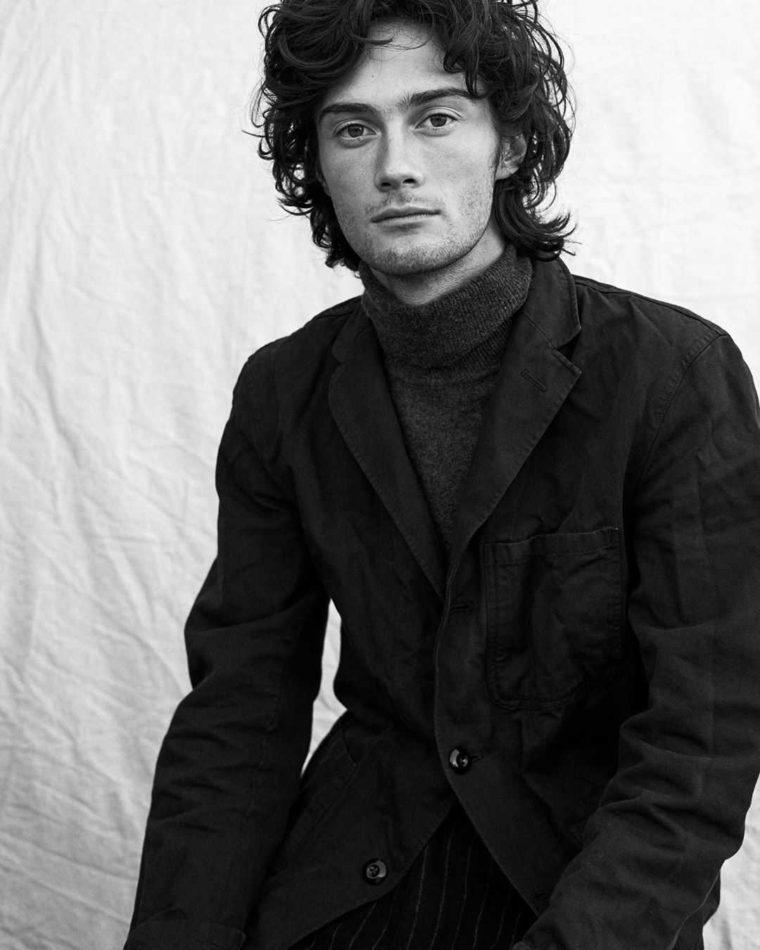 Model and actor Oli Green