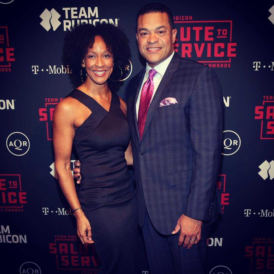 Michael Eaves and his wife