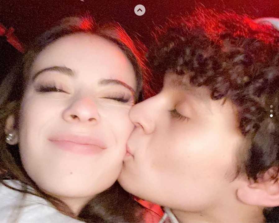 Lauren Kettering and Diego