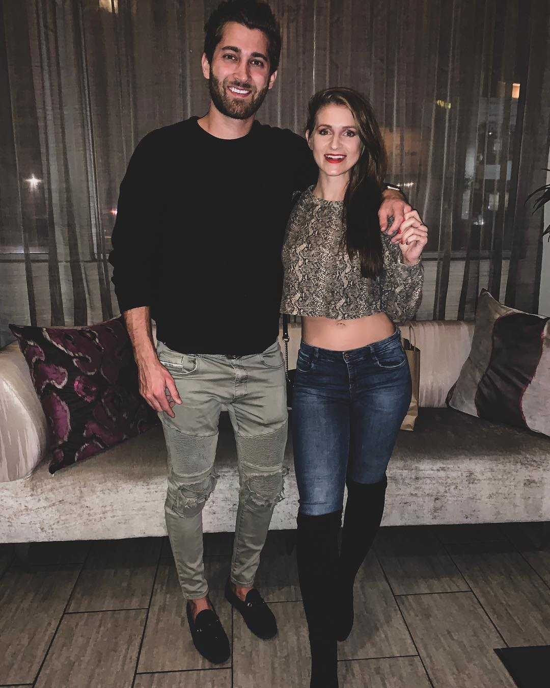 Jared Black and Rebecca Broxterman