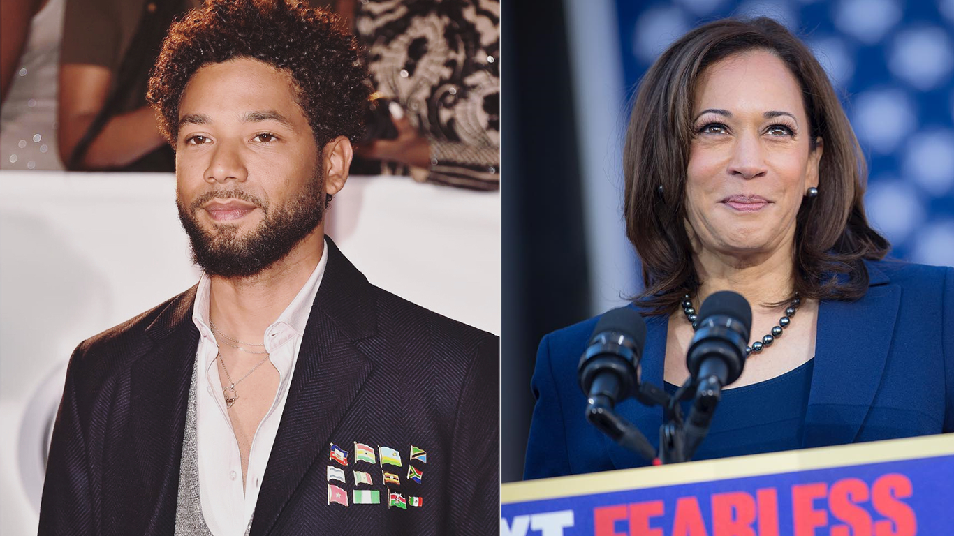 Are Kamala Harris and Jussie Smollett related? Is Kamala Harris Jussie Smollett's aunt?