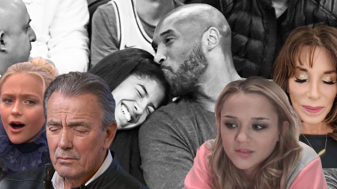 The Young and the Restless stars pay tribute to basketball giant Kobe Bryant, daughter Gianna and all others