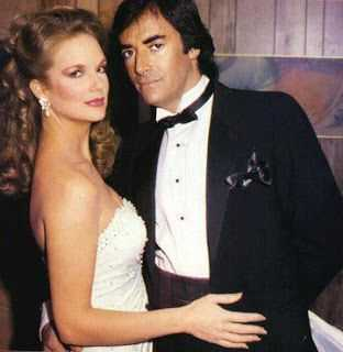 Thaao Penghlis and Leann Hunley old photo