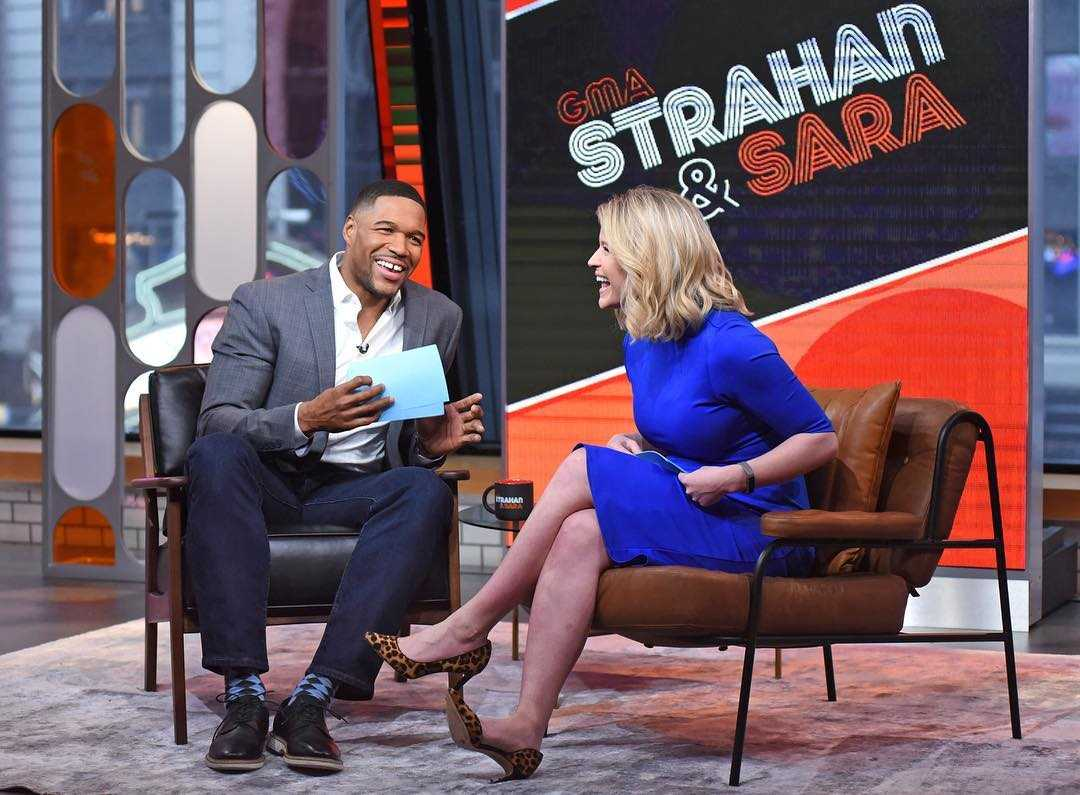 Michael Strahan and Sara Haines