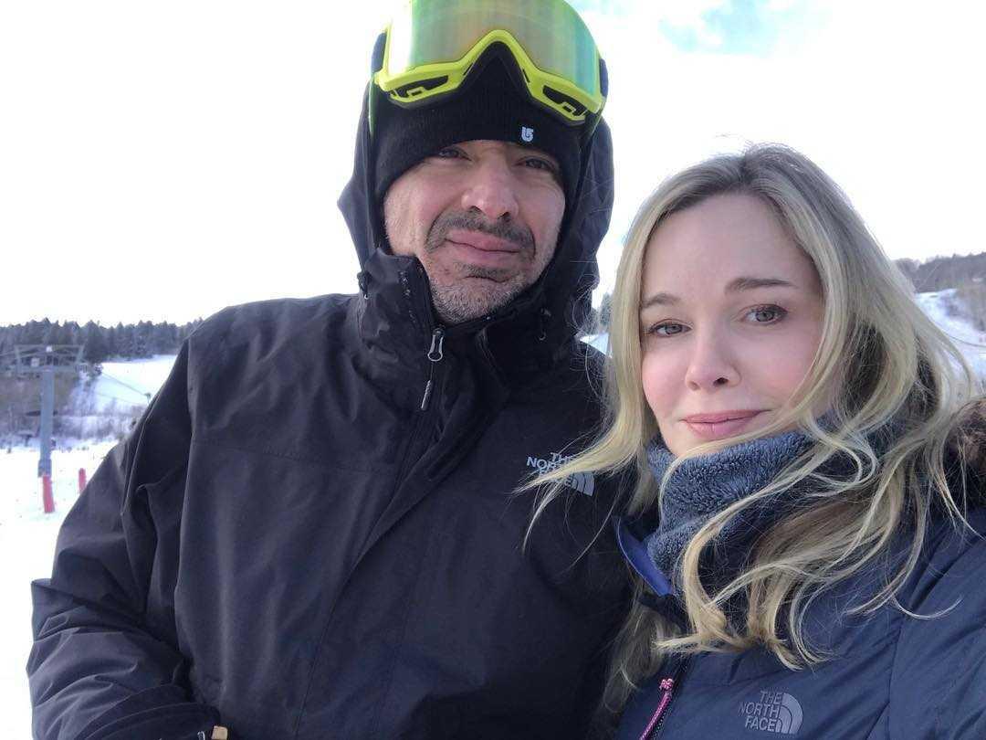 Jennifer Gareis with husband
