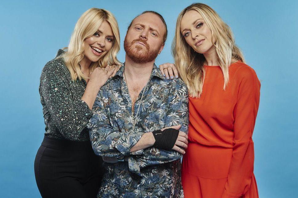 Celebrity Juice hosts