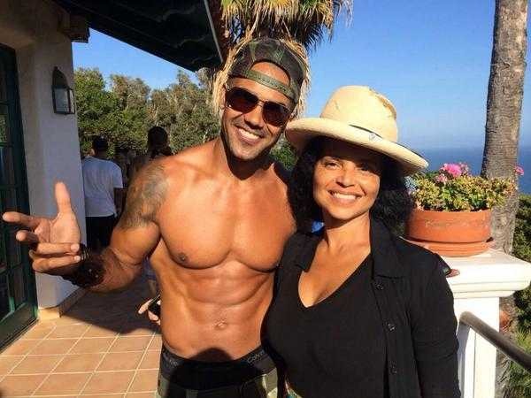 shemar moore and victoria rowell