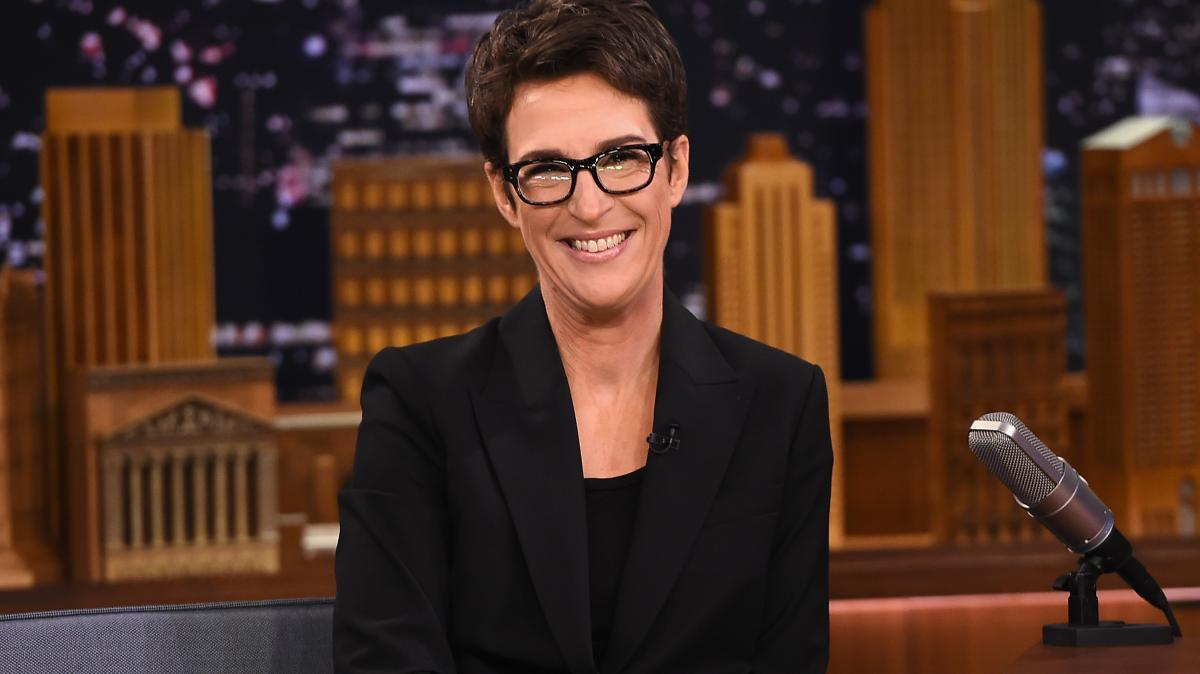 Why did Rachel Maddow want to leave MSNBC?