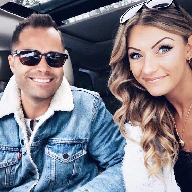 Wesley Chapman and wife