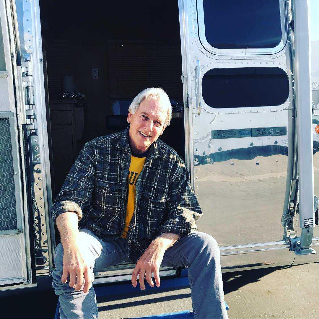 Actor Mark Harmon