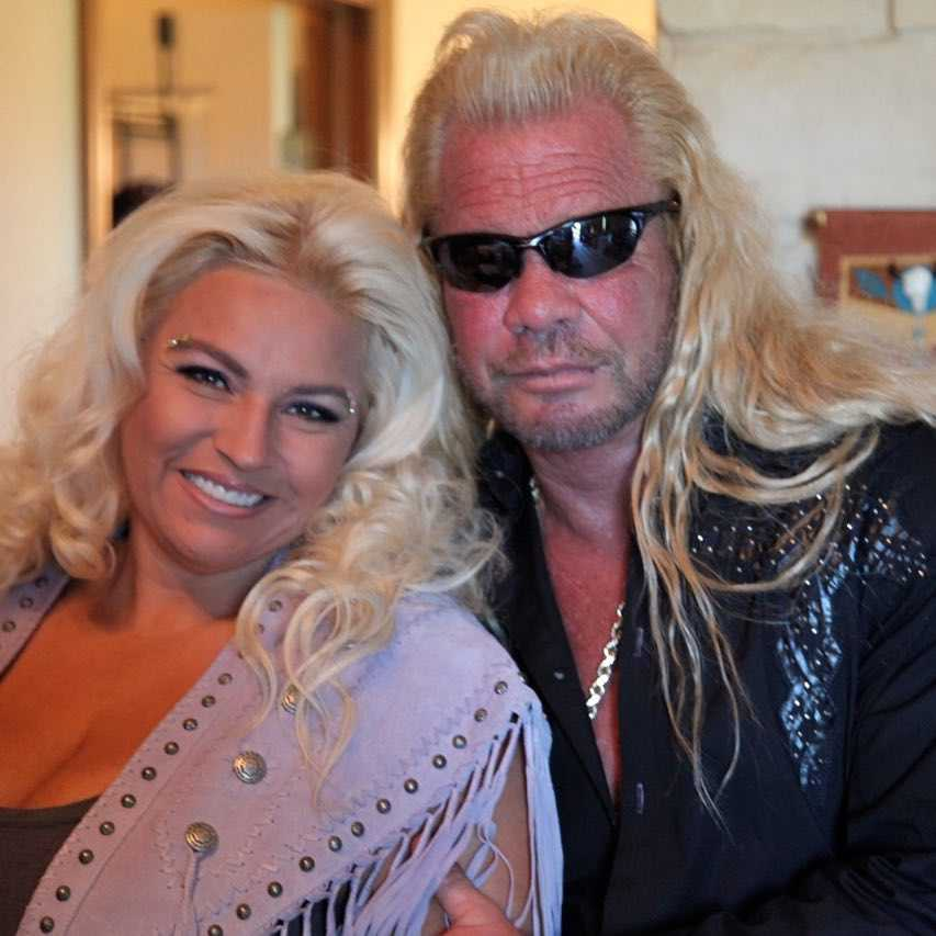 Beth Chapman with Dog the Bounty Hunter