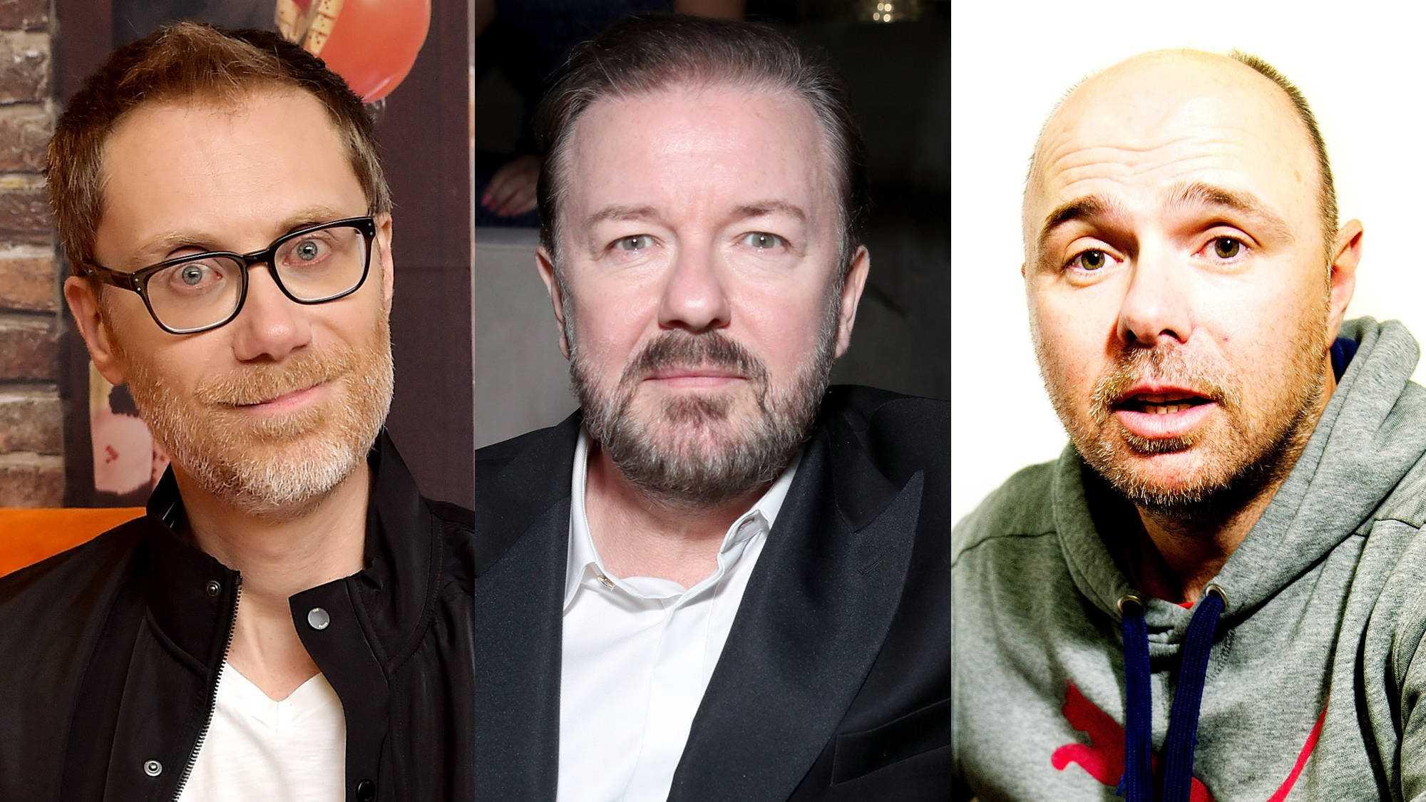 The Ricky Gervais Show cast