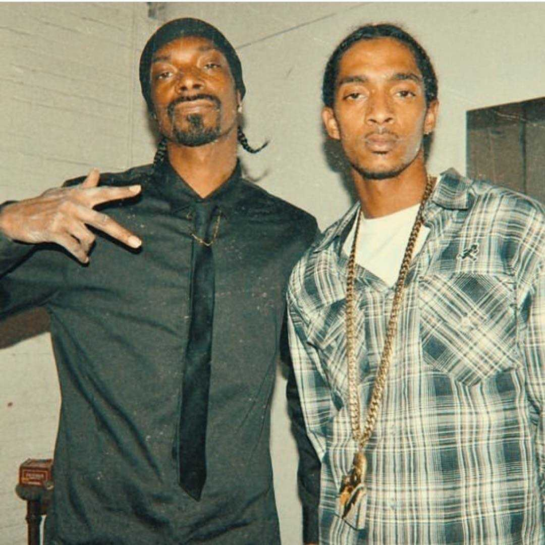 Nipsey Hussle Snoop Dogg related