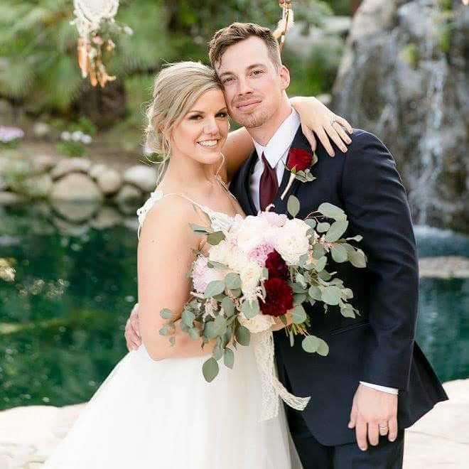 Chris Van Etten with his wife