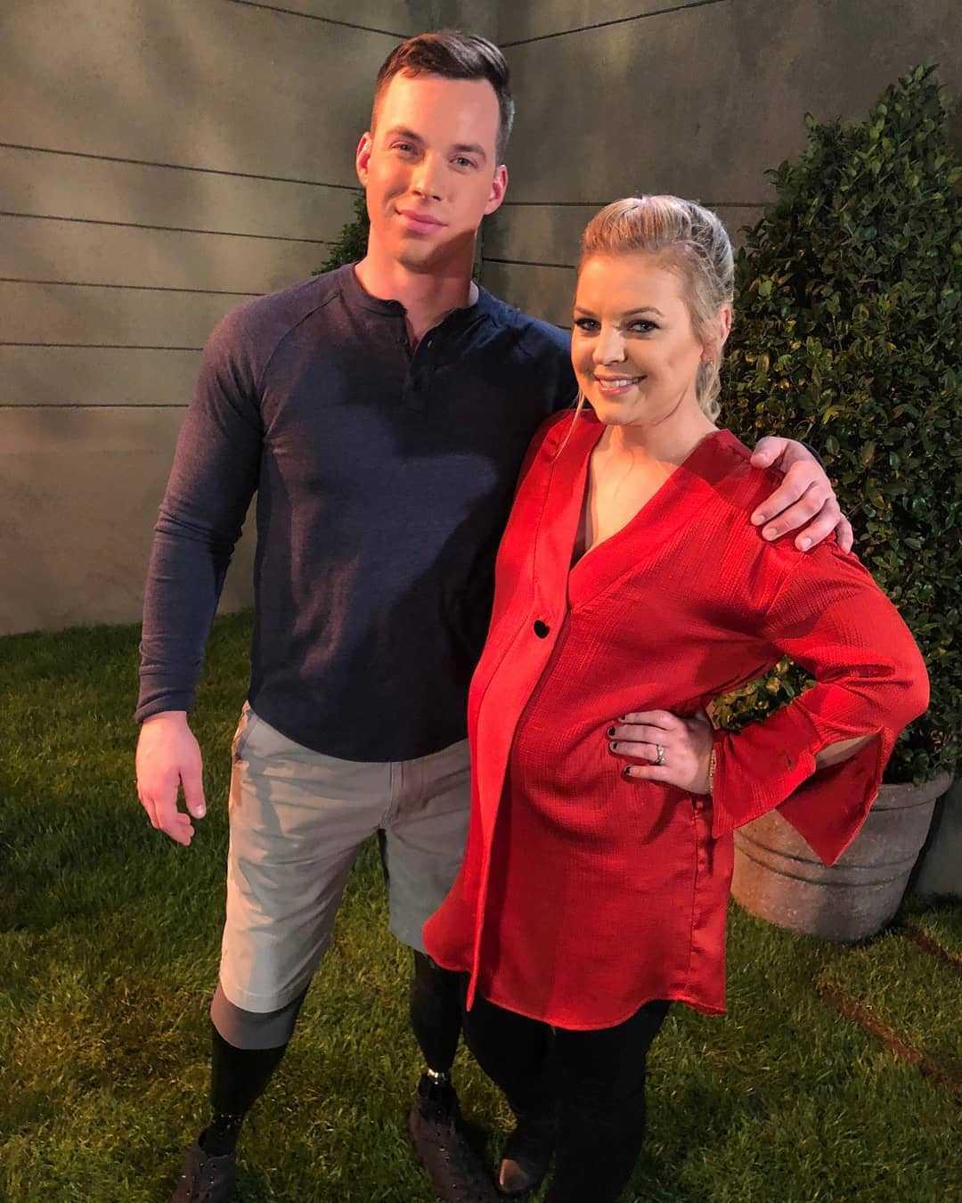 Chris Van Etten with Kirsten Storms