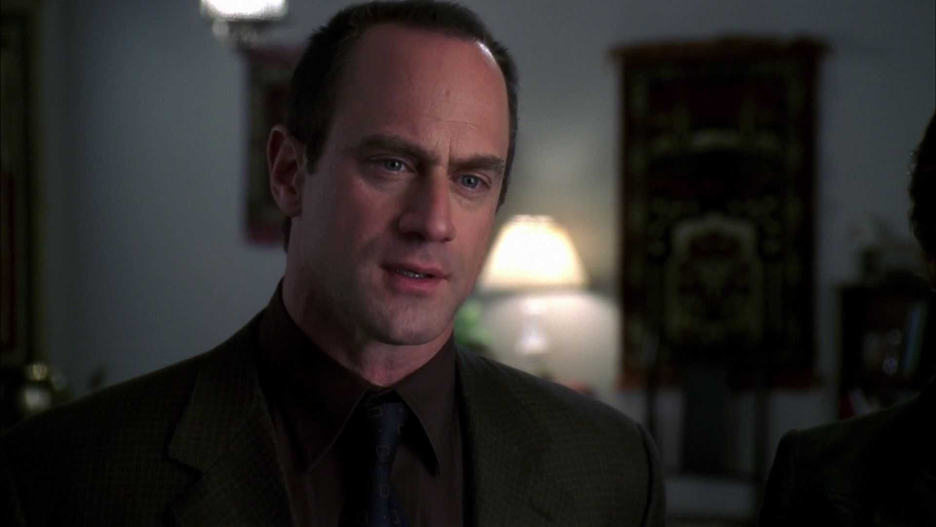 Christopher Meloni as Elliot Stabler