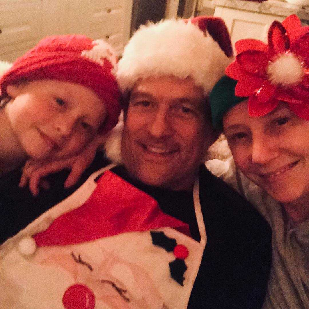 Anne Heche with family