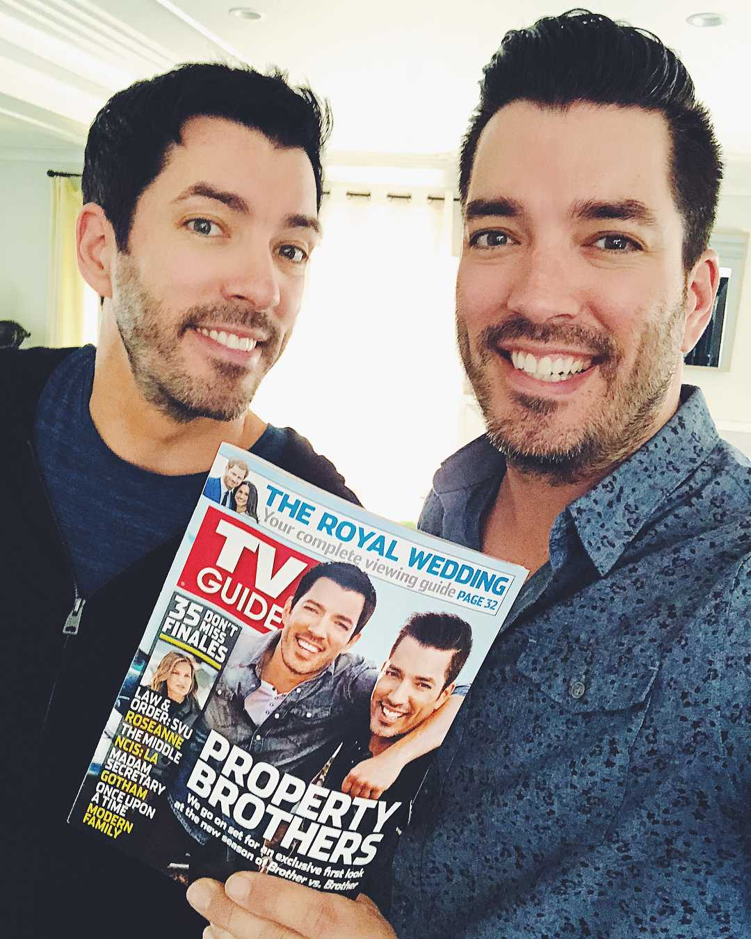 Property Brothers hosts, Drew and Jonathan Scott