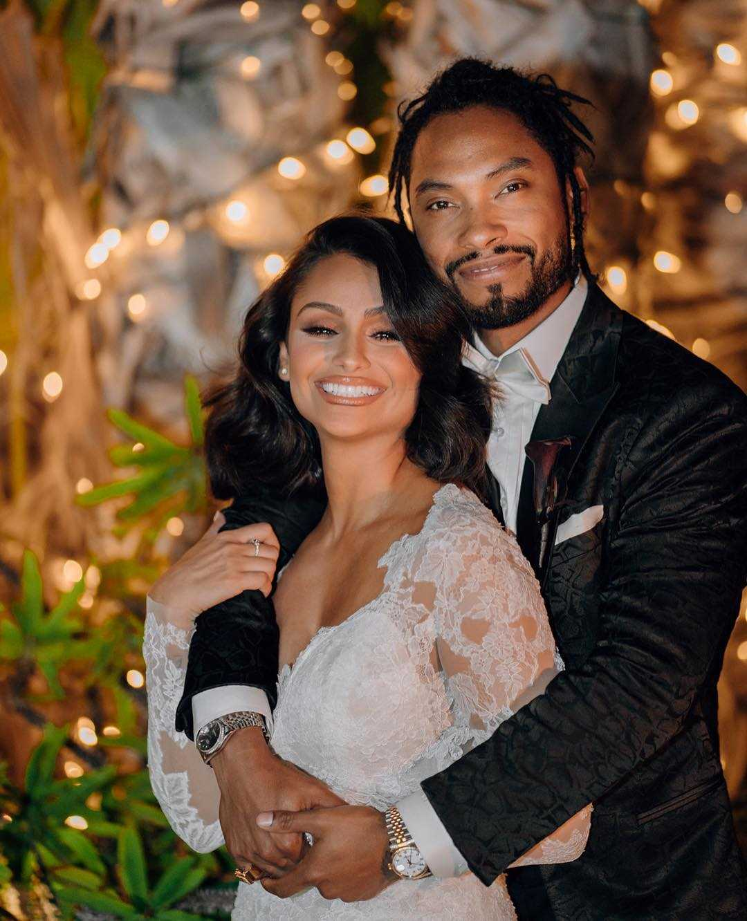 Nazanin Mandi and Miguel