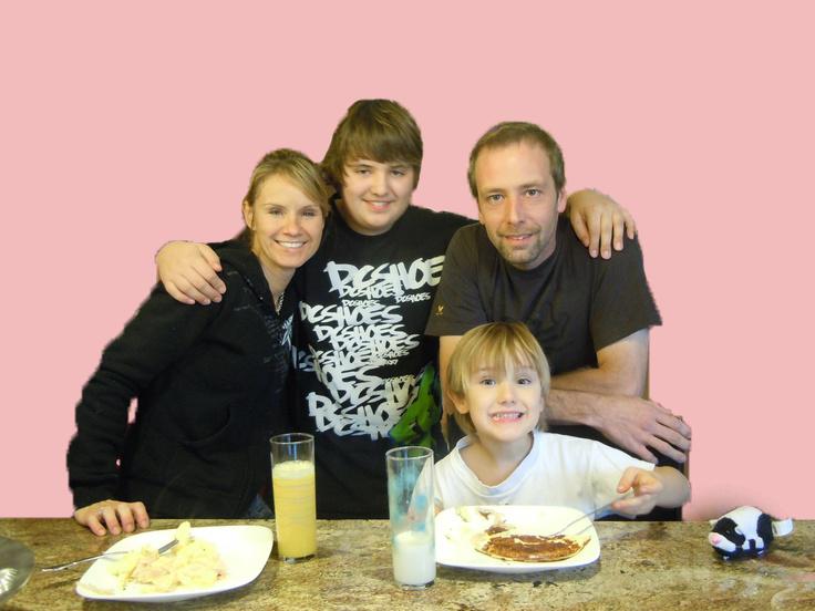 edgar hansen family picture