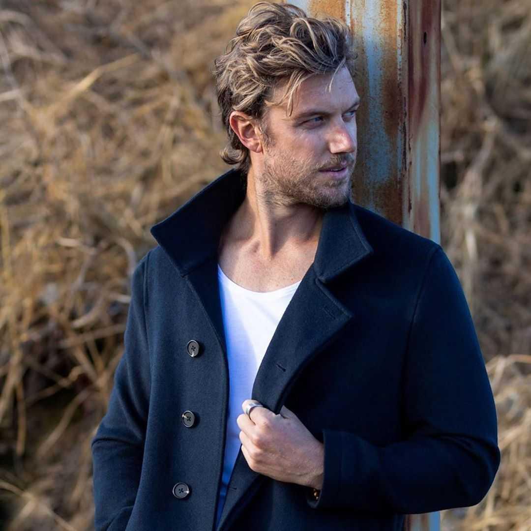 Australian actor Adam Demos
