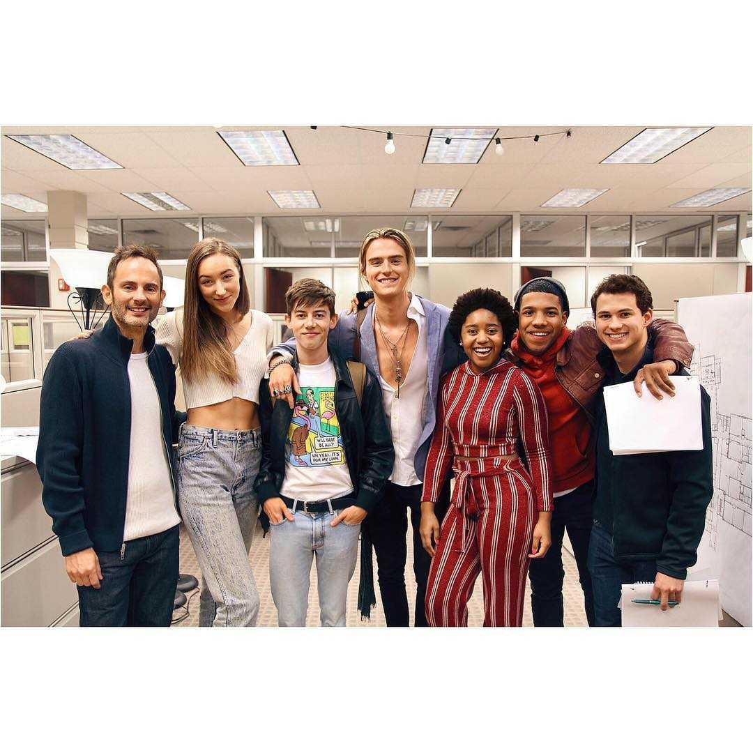tall girl cast members