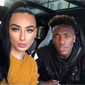 Who is Chelsea forward Tammy Abraham dating? Vlogger girlfriend Leah Monroe Biography