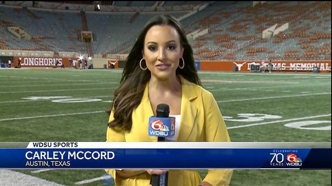 Who was Carley McCord, the WDSU-TV sports reporter killed in Louisiana plane crash?