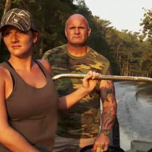 Who is Ashley Dead Eye's friend Jones Ronnie Adams from Swamp People? Is Ronnie Adams married?