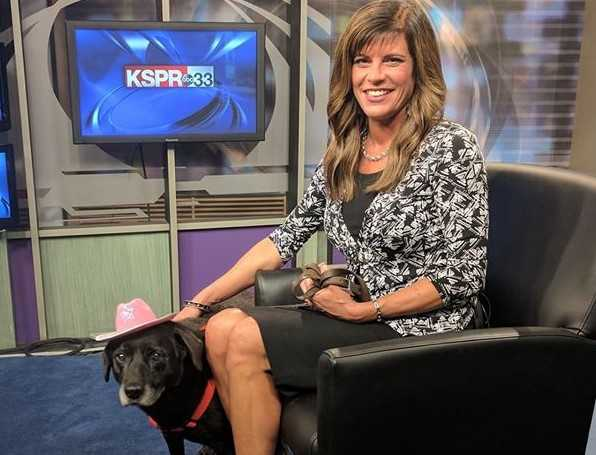 KSPR News anchor Leigh Moody helps lost dogs with Lost and Found | Here's her bio: Get to know her family