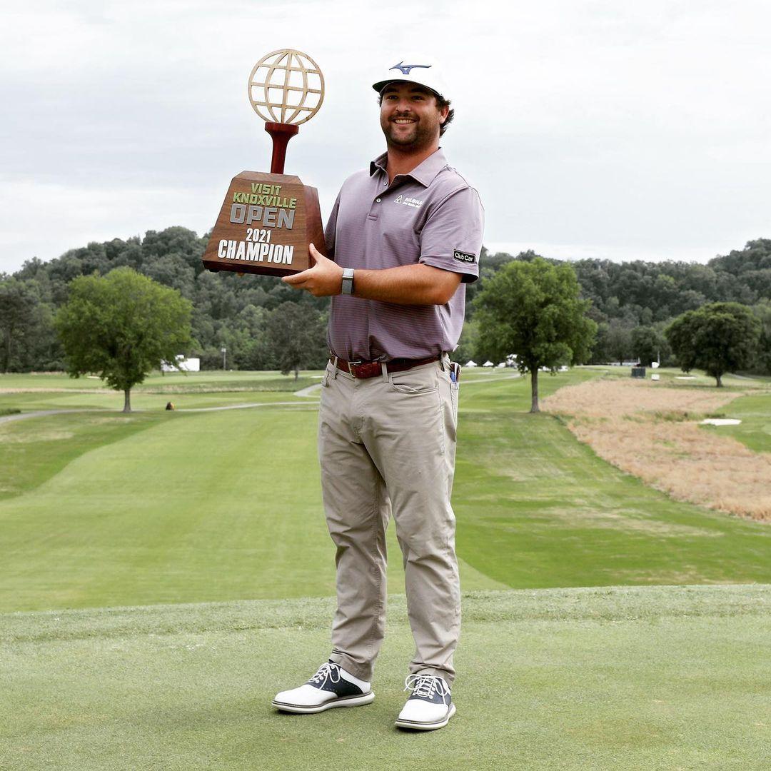 Golf player Greyson Sigg