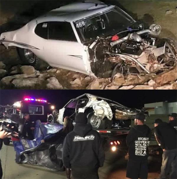 Brian Chucky Davis car crash