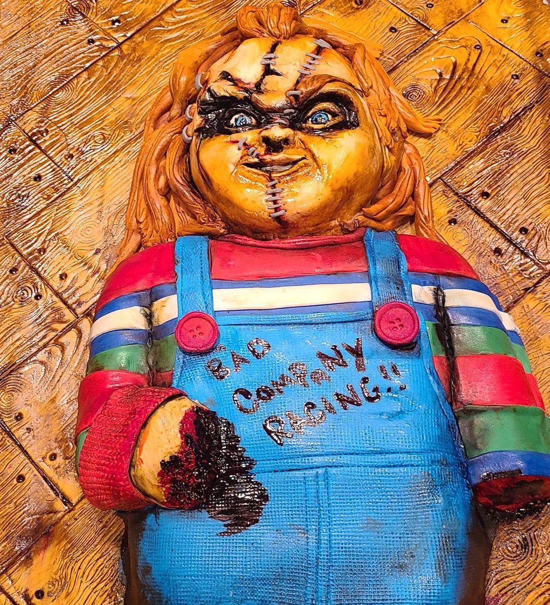 Brian Chucky Davis's birthday cake