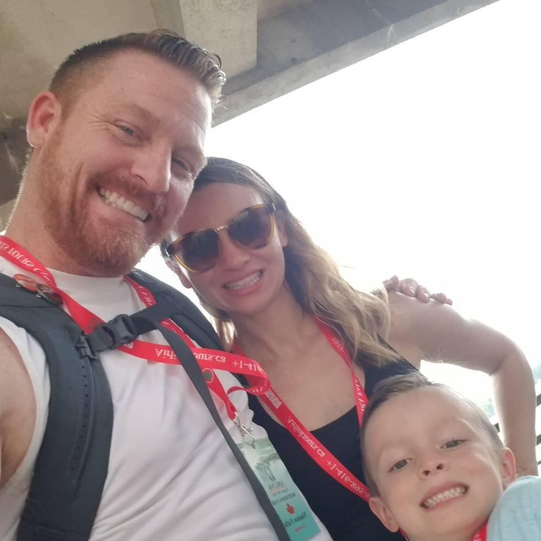Brian Chucky Davis family