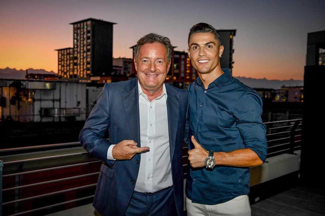 Cristiano Ronaldo Piers Morgan